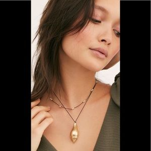 Free People Lagoon Layer Necklace